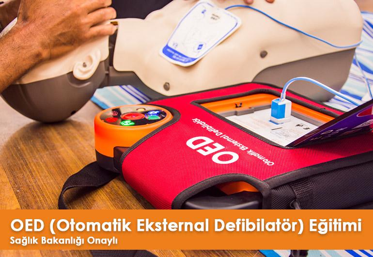 OED (Otomatik Eksternal Defibilatör) Eğitimi